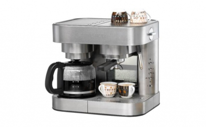 Espressor electric si cafetiera 2 in 1