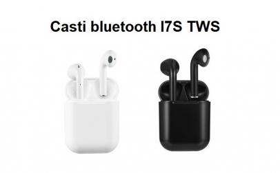 Casti bluetooth I7S TWS