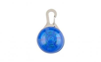 Medalion led albastru cu carabina