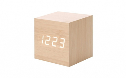 Ceas digital lemn cub vst-869, alarma
