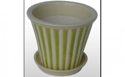 Ghiveci din ceramica pentru flori cu