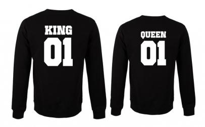 Set de bluze groase King si Queen 01