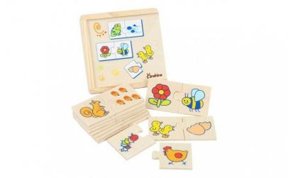Joc Montessori asociere Puzzle Onshine
