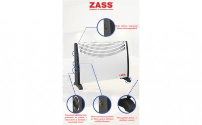 Convector electric Zass ZKH 02, 2000 W,
