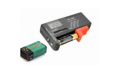 Tester pentru baterii digital BT-168D