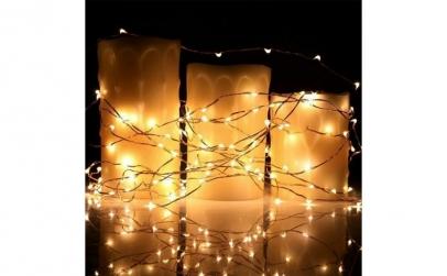 Set 8 fire cu LED -  200 LED-uri