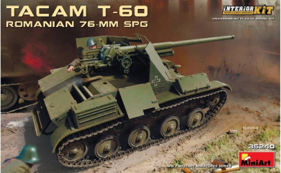 1:35 Romanian 76-mm SPG Tacam T-60