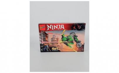 Joc constructii Ninja - Ninja verde