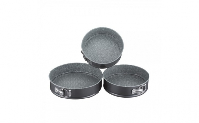 Set 3 piese forme copt rotunde,
