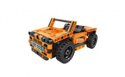 Joc constructie tip lego - Masina Jeep