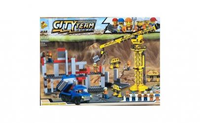 Echipa de constructii a noului oras