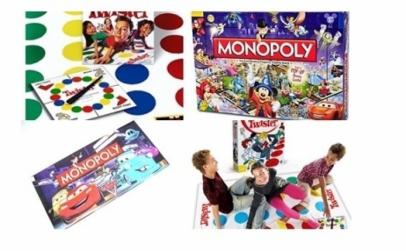 Jocul Twister + Monopoly