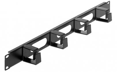 Organizator cablu 1U pentru rack 19