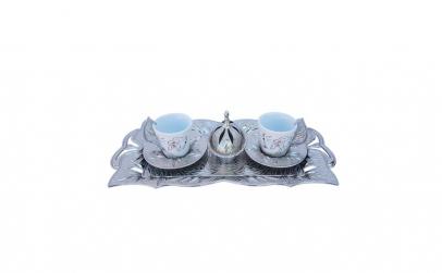 Set cafea turceasca cu desen LOVE, 11