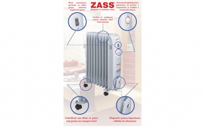 Calorifer electric Zass ZR 09C, 9