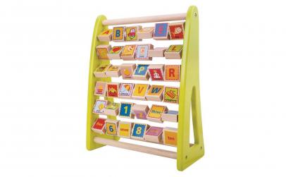 Joc Montessori Alfabetar/Cifre/Obiecte