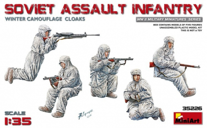 1:35 Soviet Assault Infantry (Winter