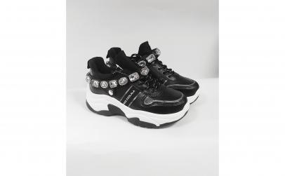 Adidas dama negru cu pietre detasabile