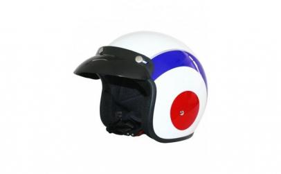 Casca Moto Leopard Leo-604, model tinta,