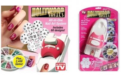 Aparat + kit manichiura Hollywood Nails