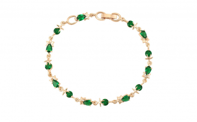 Bratara Brilliant Emerald