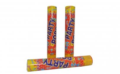 Set 3 tunuri de confetti 30 cm