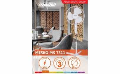 Ventilator cu picior MESKO MS 7311