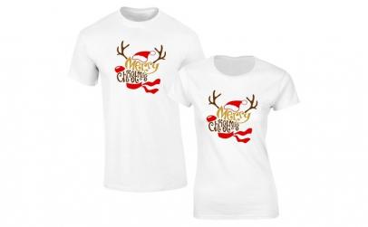 Set de tricouri albe Rudolf COD SA552