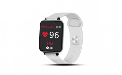 Ceas Smartwatch Techstar® B57 Alb