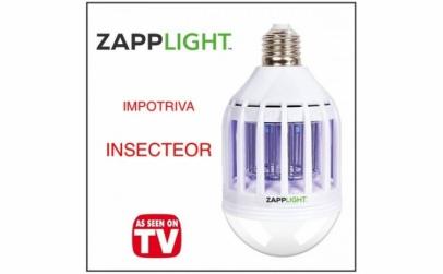 Bec 2 in 1 cu lampa UV anti-insecte