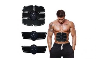 Aparat fitness cu electrostimulare