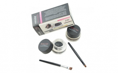 Set 2 in 1 Eyeliner Gel & Eyebrow