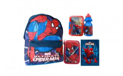Ghiozdan echipat scoala Spiderman