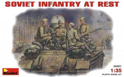 1:35 Soviet Infantry at Rest (1943-45)