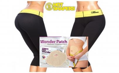 Pantaloni neopren + plasturi slabire