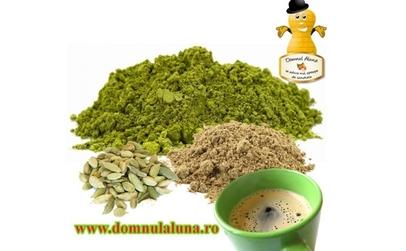Slabesti usor cu Cafea Verde cu Cardamon