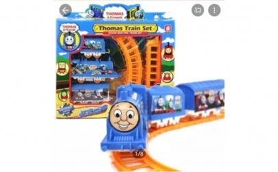 Set de tren electric Thomas and Friends