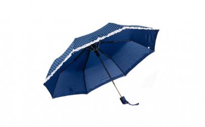 Umbrela pliabila bleumarin cu mici