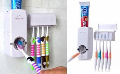 Set 2 dozatoare de pasta de dinti