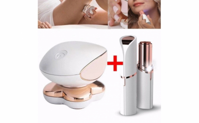 Set epilator facial + Epilator picioare