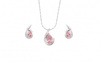 Set Rhodium Woman Gift