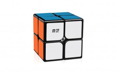Cub Rubik 2x2x2  QiYi QIDI, Black,