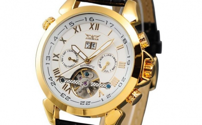 Ceas Jaragar Luxury Gold Automatic