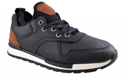 Pantofi Barbati Casual Negri -