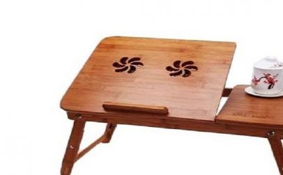 Masuta pliabila laptop din lemn