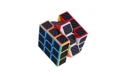 Cub Rubik 3x3x3 Yang  Fibra de carbon,