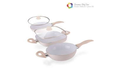 Set tigai Ceramic Chef Pan Elegance