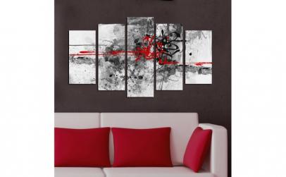 Set tablouri , Wallity , 110 x 60 ,