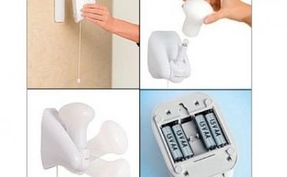 Veioza Fara Fir - Handy Bulb 4 buc