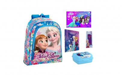 Ghiozdan echipat scoala Frozen